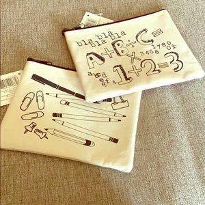 ⬇️❣️Brand new zipper bag bundle❣️